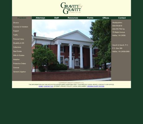 Gravitt & Gravitt PC - Attorneys in Halifax, Virginia (VA)