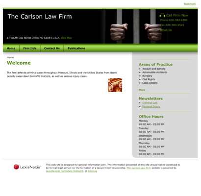 The Carlson Law Firm - Accident Attorneys in Union, Missouri