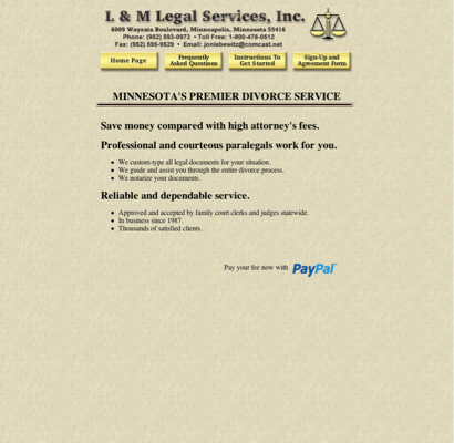 L m legal service legal process servers in minneapolis divorce paralegal minnesota forms documents paperwork prose do it yourself legal uncontested typing agreement service from httplmlegal solutioingenieria Choice Image
