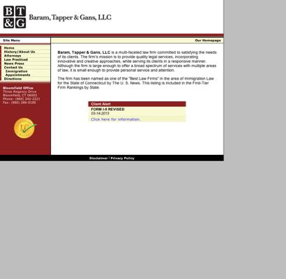 Clayman Tapper & Baram logo