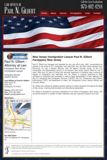 Gilbert, Paul - Gilbert Paul - Lawyers in Parsippany, New