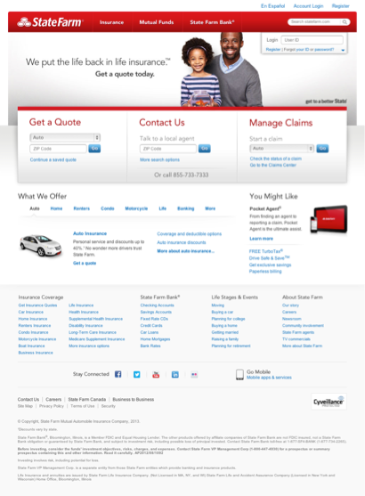 State Farm Car Insurance Quote Classy State Farm Online Quote Simple Download Life Insurance Rate Quote