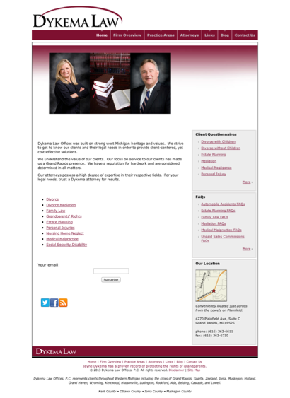 Dykema Law Offices PC - Lawyers in Grand Rapids, Michigan (MI)