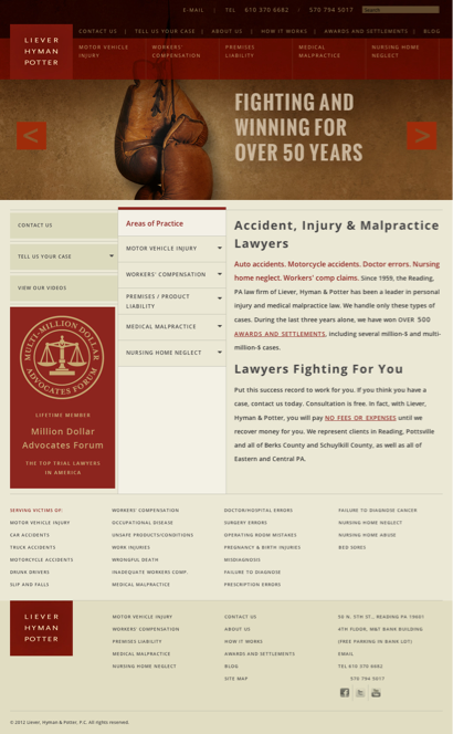 Liever Hyman & Potter PC - Lawyers in Ashland, Pennsylvania (PA)