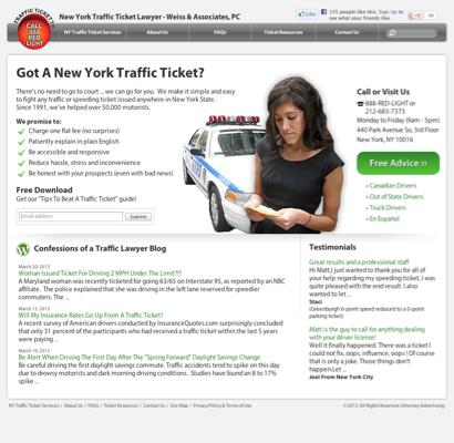 Speeding Ticket Attorney, Traffic Ticket Lawyer - Weiss