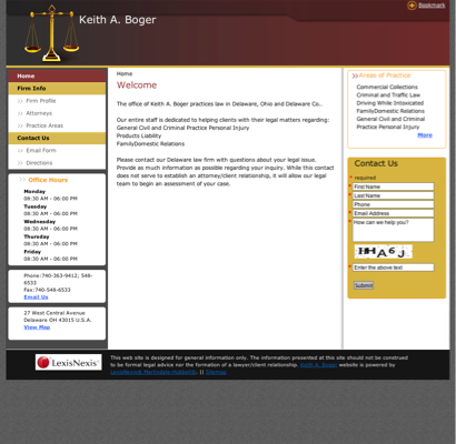 Boger Keith A Attorney In Delaware OH