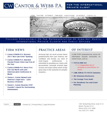 Cantor- Steven L  Attorney - Attorneys in Miami, Florida (FL)