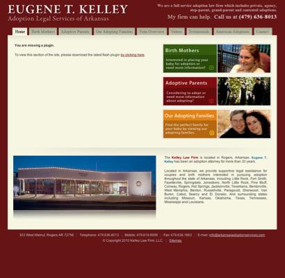 Kelley Eugene T Attorney Attorneys In Rogers Arkansas Ar