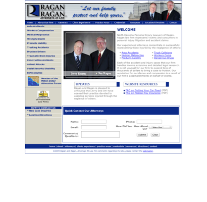 Ragan & Ragan PLLC - Accident Attorneys in Gastonia, North
