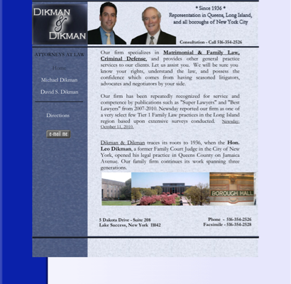 Dikman- David S  Attorney - Accident Attorneys in New Hyde